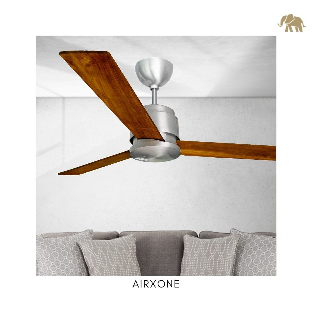 Airxone Is A Sophisticated And Modern Design Clean Screw Less Look With Three Blades That Are Made Of Teak Wood Decorstor Luxury Interior Decor Home Decor