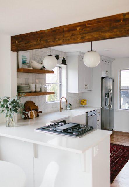 13 cocinas chiquitas pero bonitas kitchens cocinas for Ideas para cocinas pequenas rusticas