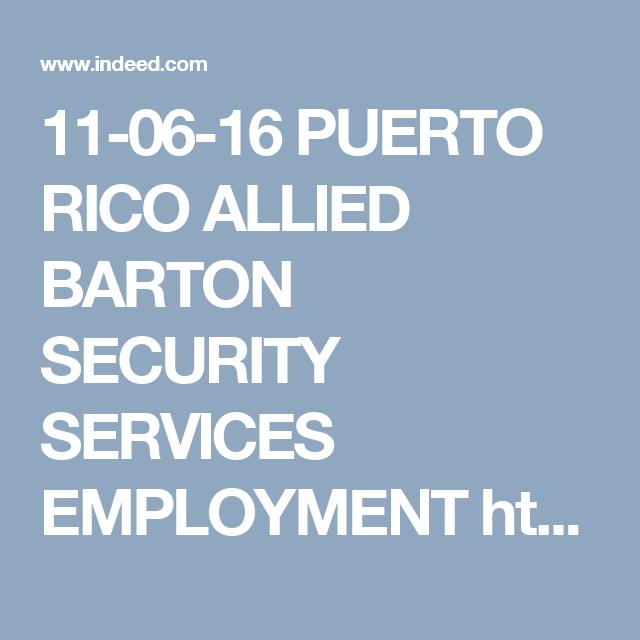 alliedbarton jobs