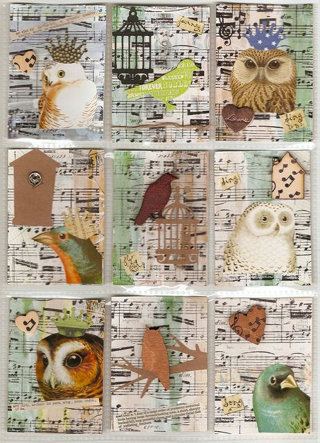ATC's For Transit Traders by chicken-lady, via Flickr