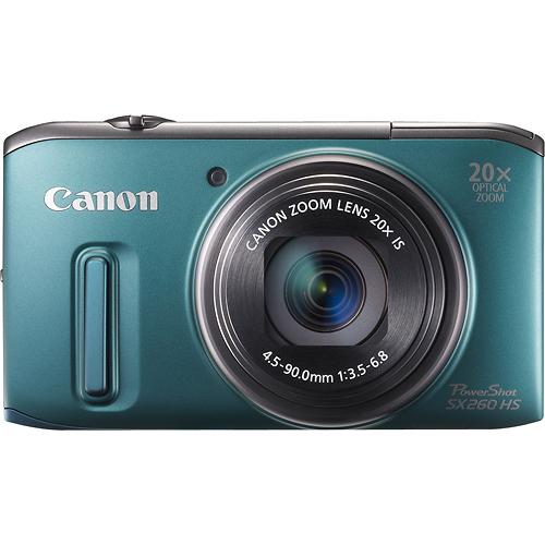 Canon Powershot Sx260 Hs 12 1 Megapixel Digital Camera Green 6196b001 Best Buy Waterproof Digital Camera Best Digital Camera Canon Powershot