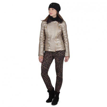 Bogner Elaine Stretch Leopard Print Ski Pant   Avea-D Metallic Jacket  (Women s)  2f25b4173