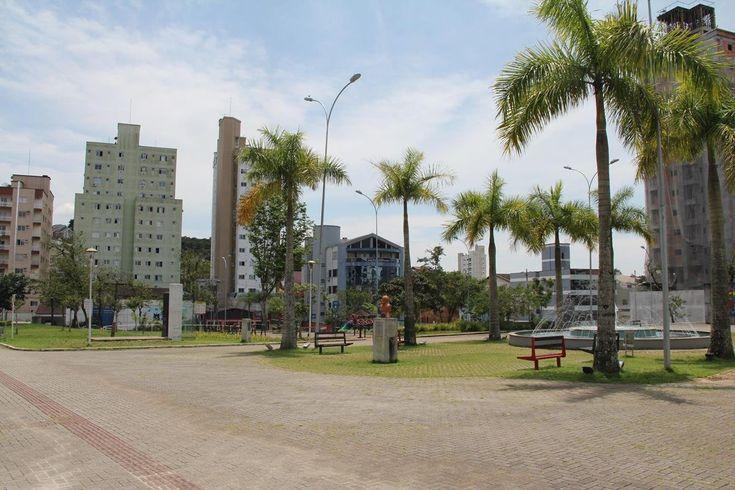 Praça Sesquicentenário brusque