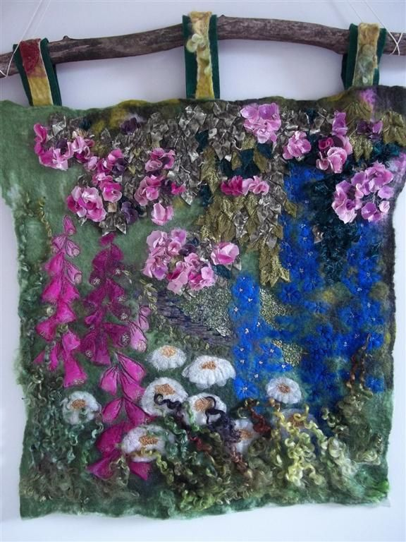 marmalade rose's felted art More
