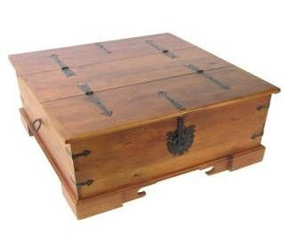Trunk Coffee Table~use to have one of these when I was growing up!! Miss it!