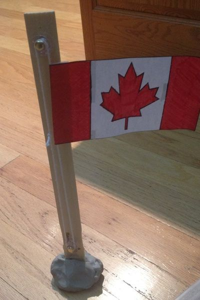 Build a flag pole with pulleys Week 2 - Science Centers - Miss ...