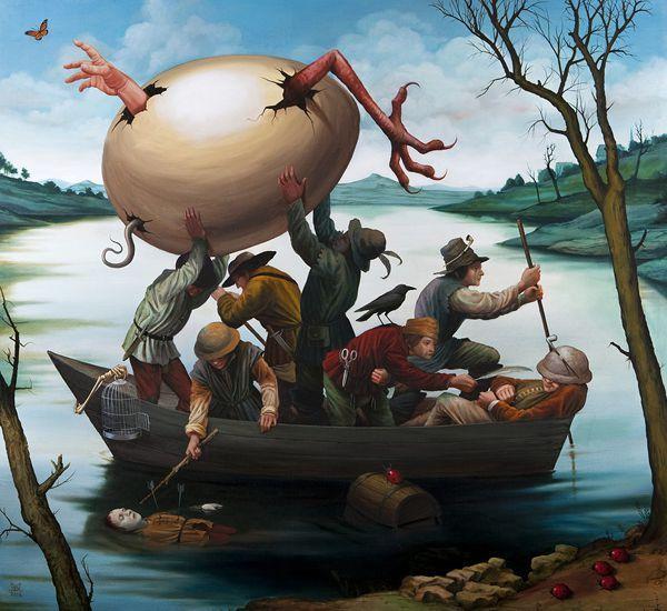 Las enigmáticas pinturas de el Bosco (Misterio resuelto) - Página 2 9a65165c1cf0835f13feafd7fe7581ff