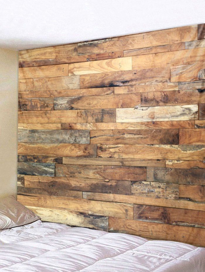 Vintage Wood Planks Print Wall Art Tapestry | wall decor | Pinterest ...