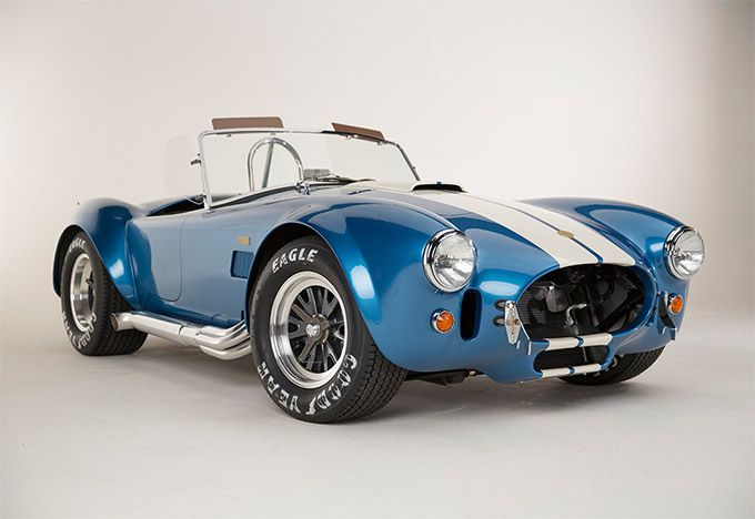 50th Anniversary Shelby Cobra 427 To Celebrate The Golden