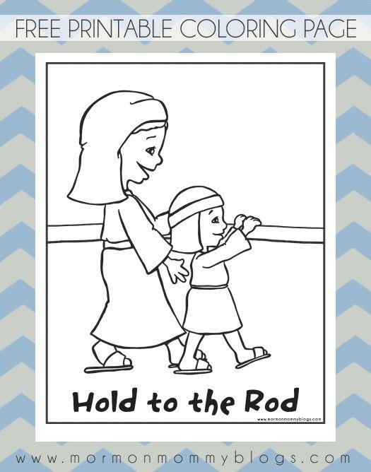 hold to the rod, nephites | mormon mommy printables This Mormon pin ...