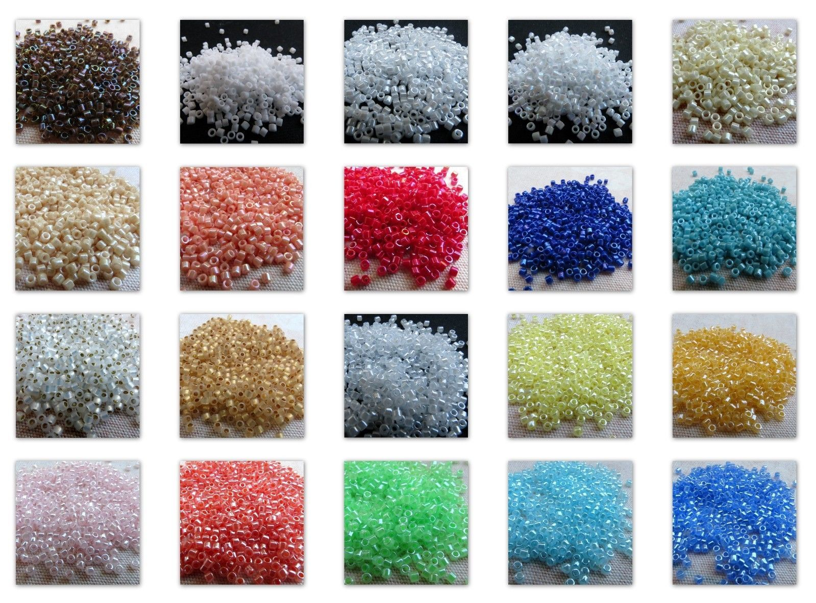 Seed delica miyuki japanese glass seed beads g