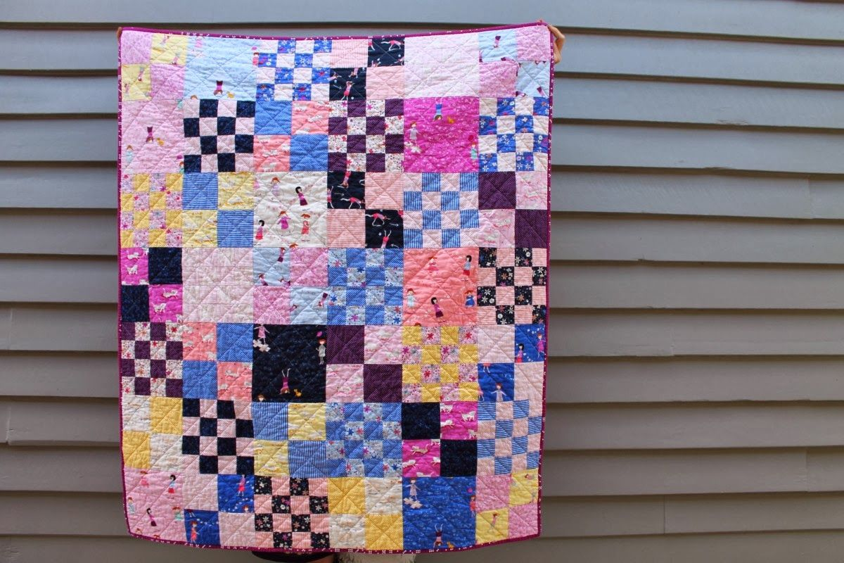 Hello Petal Layer Cake Quilt