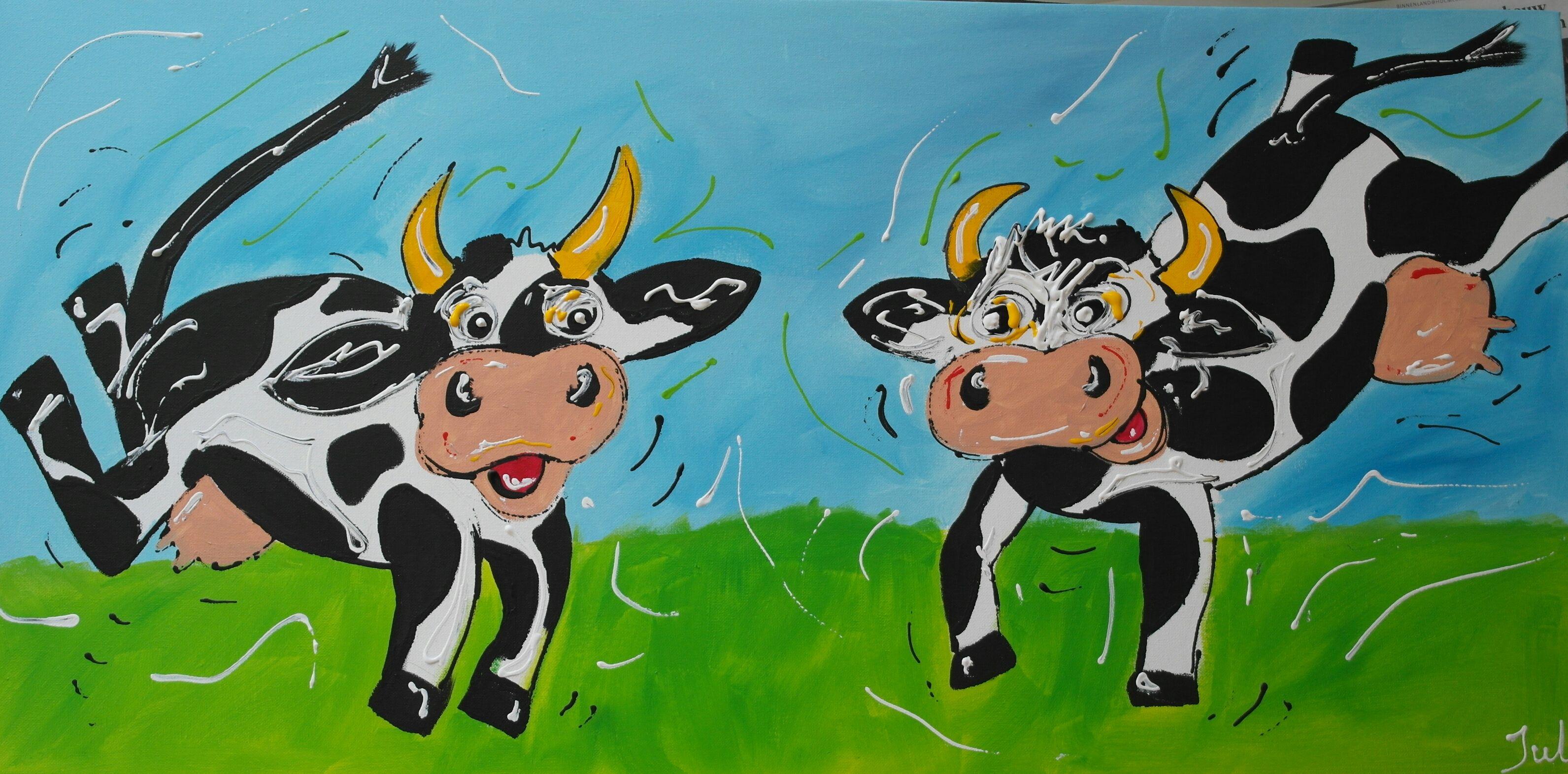 Happy cows