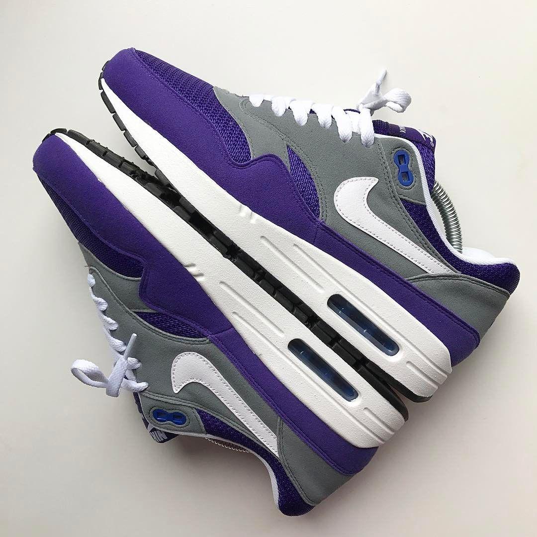 reputable site 63873 d6d97 Nike Air Max 1 x NikeiD Purple Pills