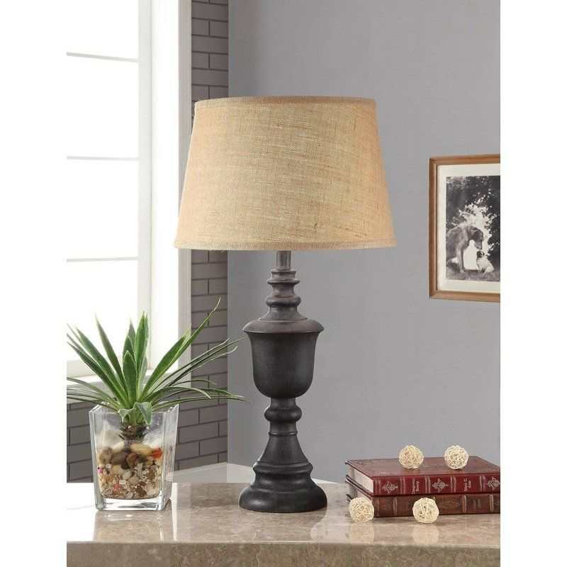 Better homes and gardens rustic table lamp base from hayneedle com