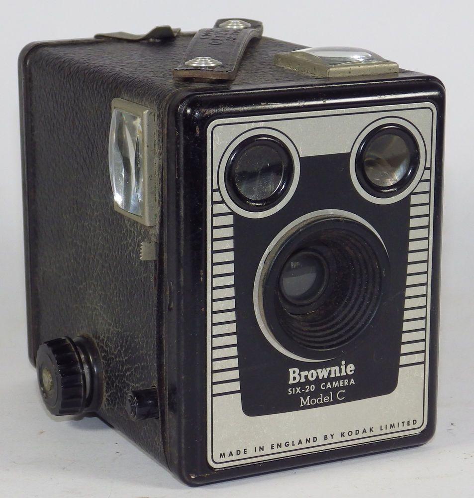 Vintage Box Camera Kodak Popular Brownie 620 120 Roll Film ...  |Old Camera Film Roll Boxes