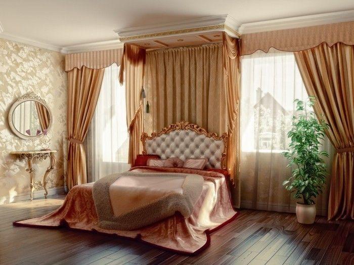 gardinen schlafzimmer luxuriöse wohnideen für den schlafbereich - gardine f r schlafzimmer