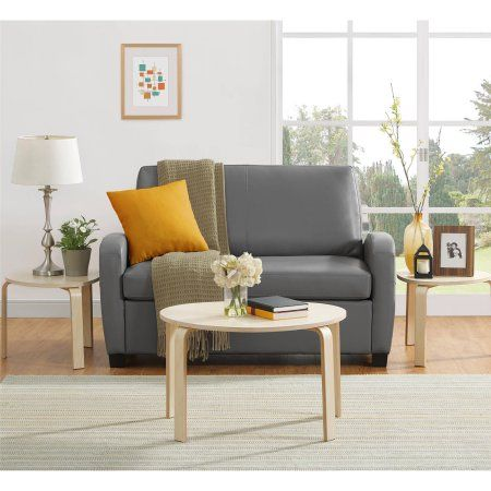 Mainstays 54 Inch Loveseat Sleeper Grey Gray Products