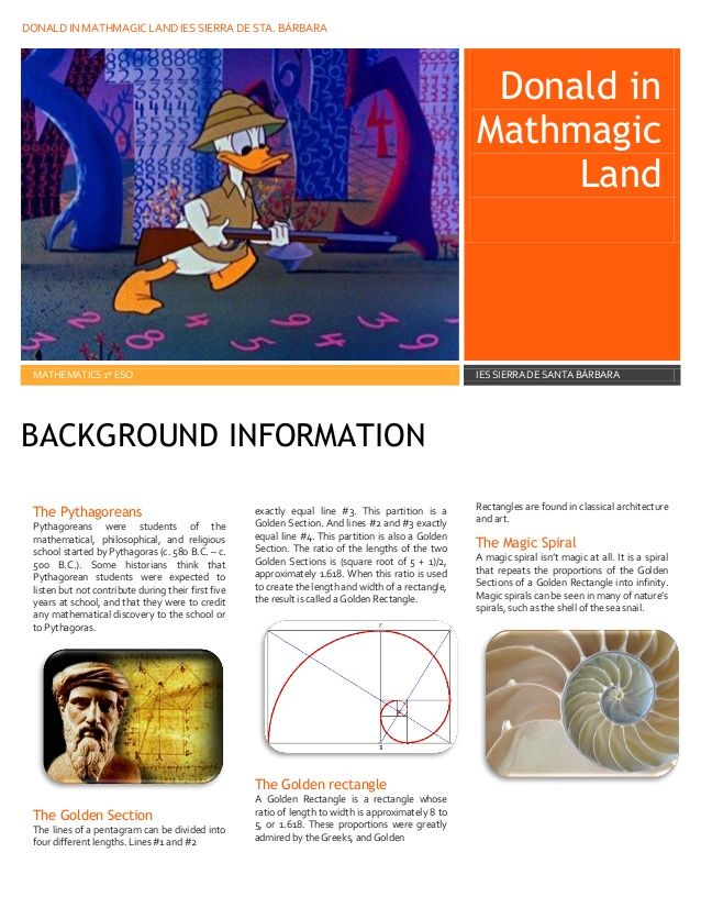 Donald In Mayhmagic Land Math Coloring Worksheets Math Camp Middle School Lesson Plans