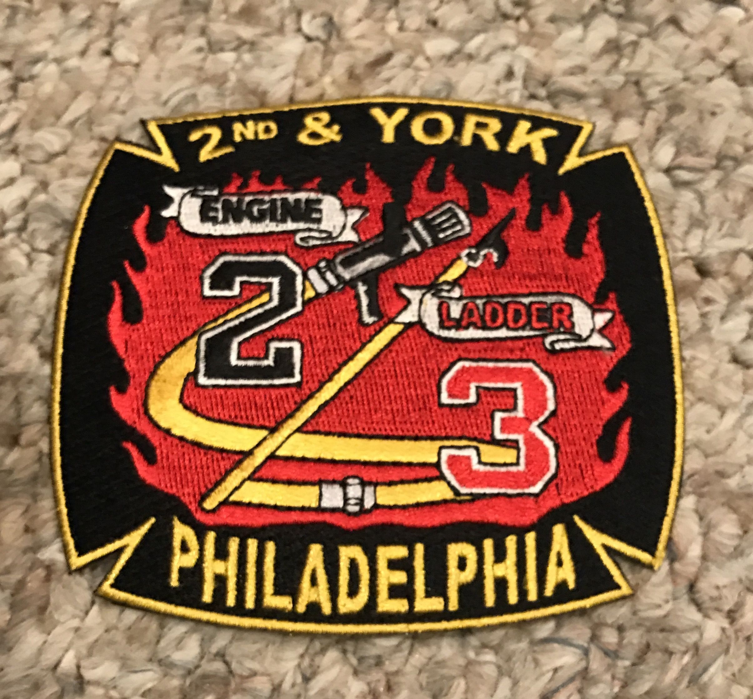 Engine 2 Ladder 3 Firefighter, Vehicle logos, Fire dept