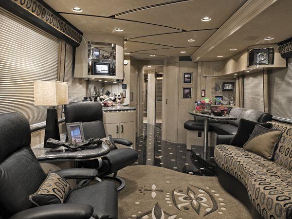 Photos Of Tour Bus Interiors