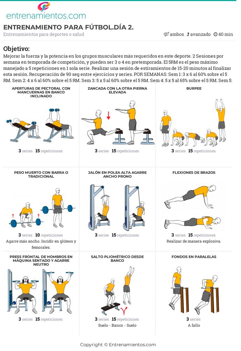 ejercicios de fuerza explosiva en piernas