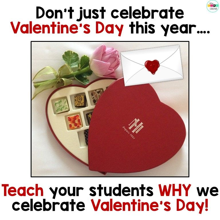 how valentine's day came to be- lesson plans for younger grades, Ideas