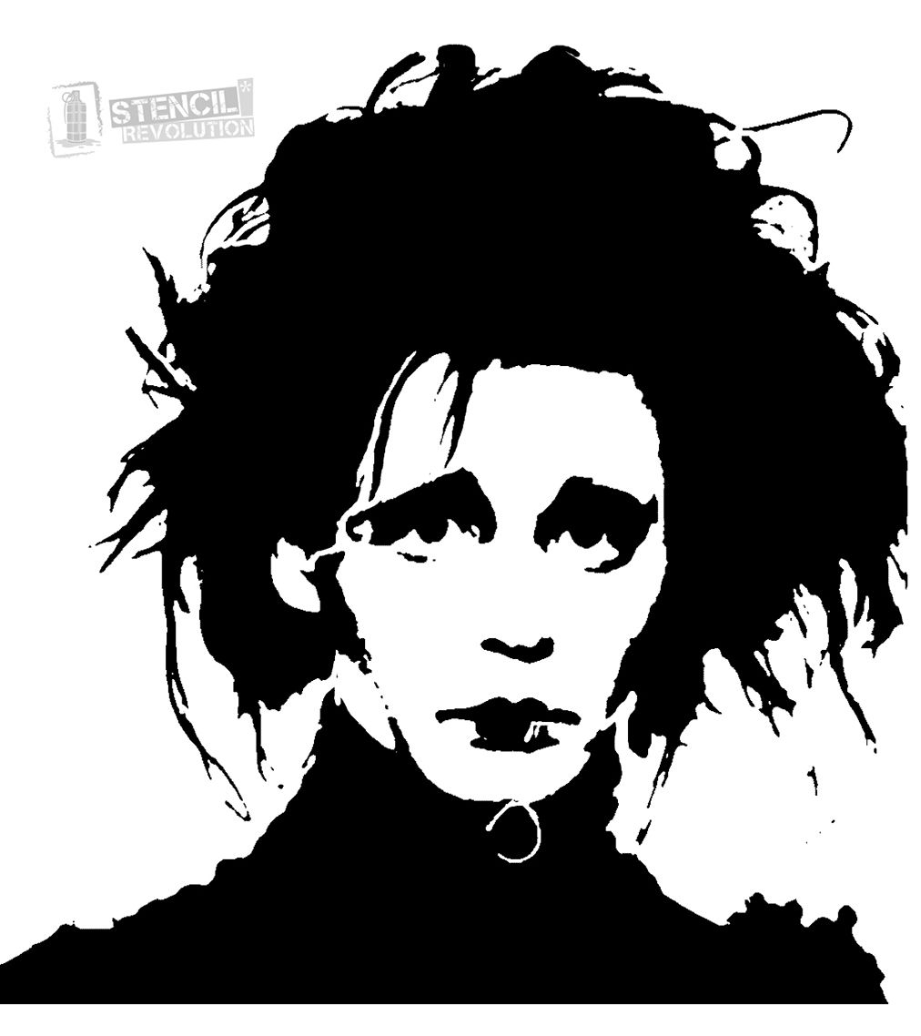 Edward Scissorhands Stencils On Stencil Revolution With Images