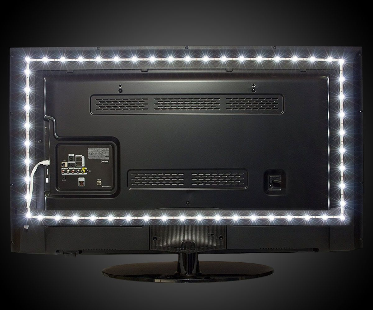 Luminoodle LED TV Backlight Lights behind tv, Tv