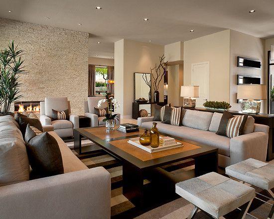 Modern Living Room Modern Living Room Furniture Ideas Salones Rectangulares Decoracion De Salas Modernas Ideas De Sala Gris Trendy living room furniture ideas