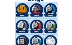Thomas the Train Bingo