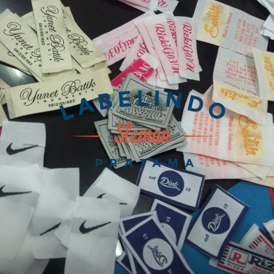 "Labelindo Sleman Pratama on Instagram: ""Contoh Label.. . . Min"