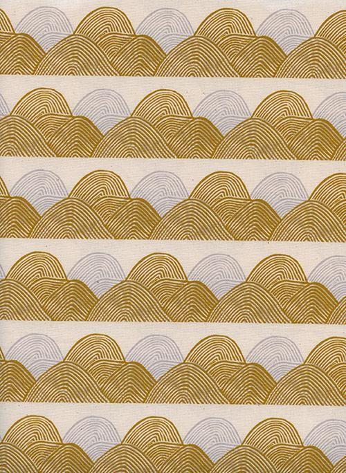 1//2 yard JEN HEWETT IMAGINED LANDSCAPES Cotton and Steel Fabric