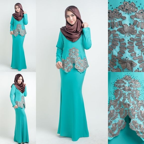 Design Baju Raya Artis : Baju kurung moden lace lovelysuri sewing and needle