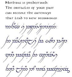 Image Result For Tolkien Elvish Tattoos Lord Of The Rings Tattoo