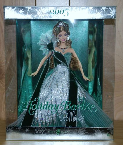 2005 Holiday Barbie--green Version, Was A Sears Exclusive