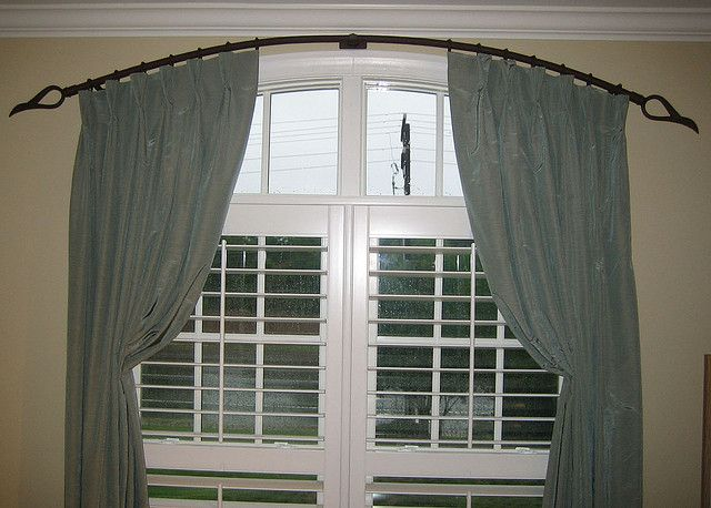 Pleated Panels For Arched Windows By Susan Schurz Curtains For
