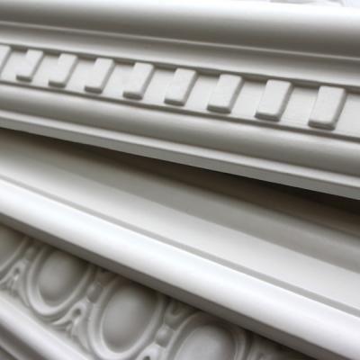 Moldu la moldura de poliuretano se utiliza como un - Molduras techo poliuretano ...