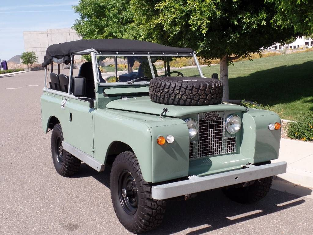 1965 Land Rover Series 2A Defender Series IIa. Photo Via