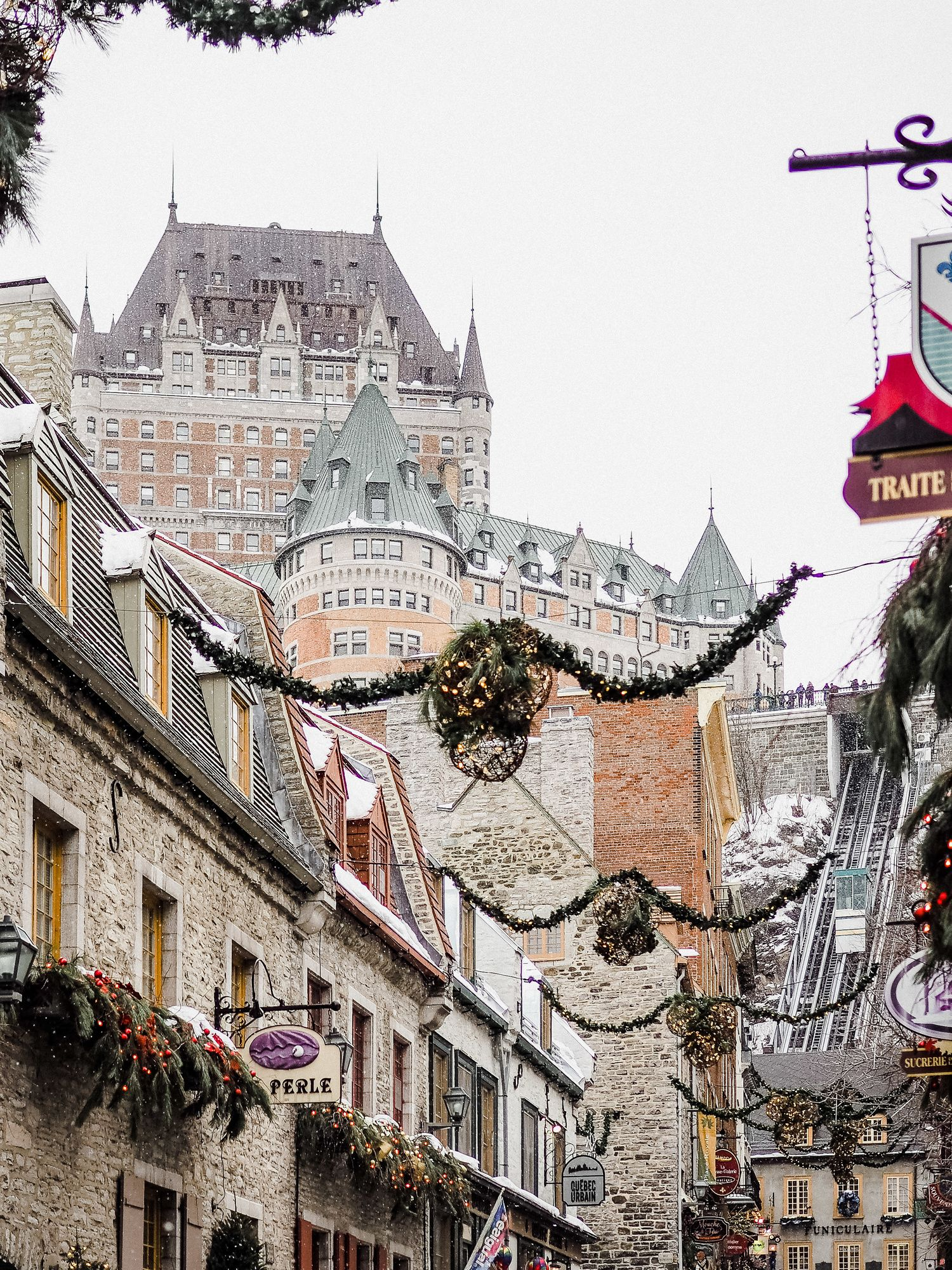 Quebec City Winter Getaway Quebec City Winter Quebec City Christmas Quebec City