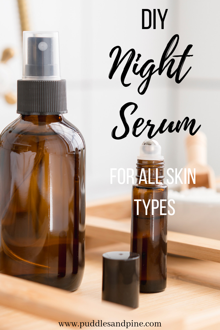 DIY Face Serum With Essential Oils -