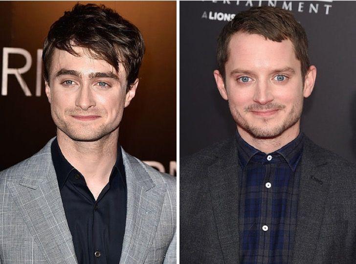 Estas Increibles Imagenes Demuestran Que Elijah Wood Y Daniel Radcliffe Son Hermanos O Clones