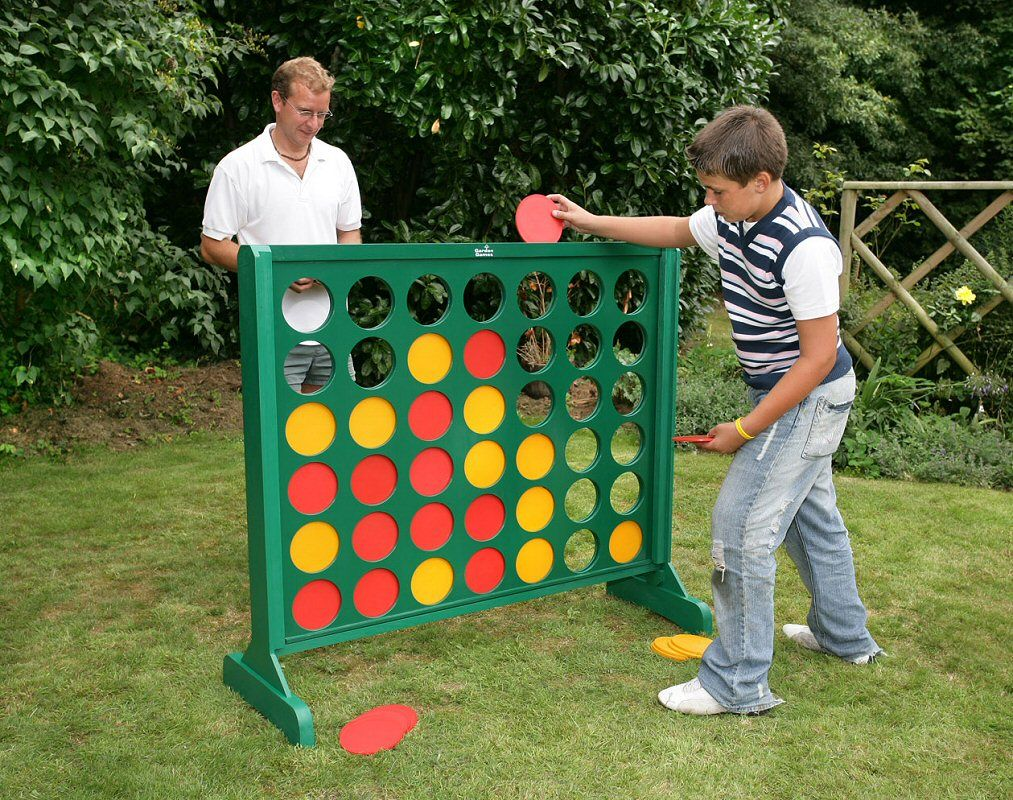 Amazing Yard Games | Four In A Line Game   Large Outdoor Version. Iu0027d