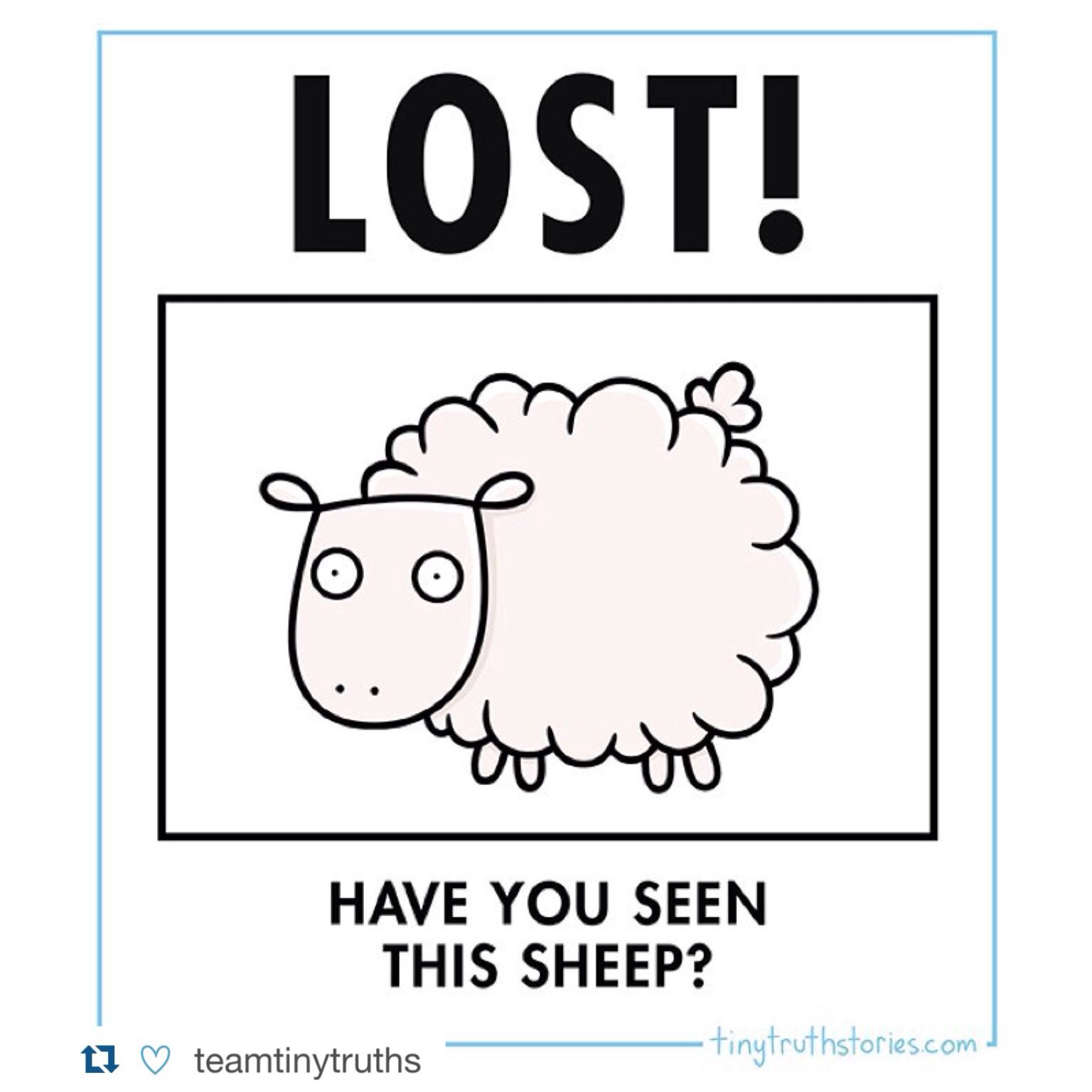 The Parable Of The Lost Sheep Box Is Out This Month And So