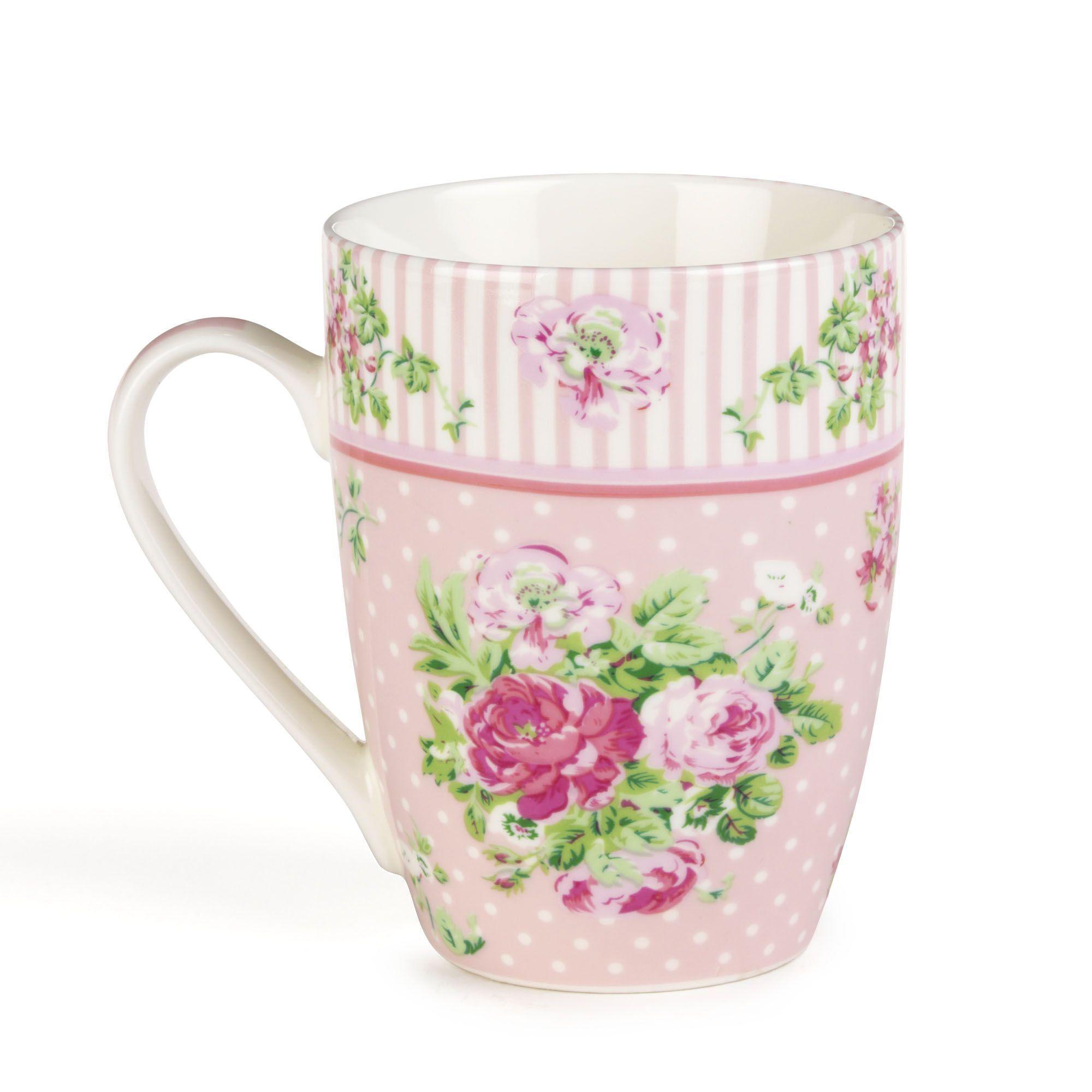 mug fleuri liberty vaisselle du petit d jeuner alinea bric brac pinterest bureaus. Black Bedroom Furniture Sets. Home Design Ideas