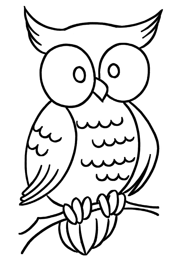 Halloween Coloring Page, FREE Coloring Page Template Printing Printable  Halloween Coloring Pages Fo… Owl Coloring Pages, Snake Coloring Pages,  Bird Coloring Pages