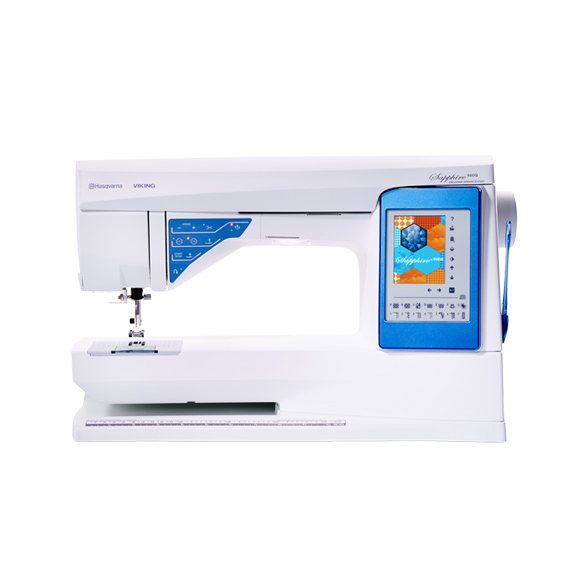 Husqvarna Viking Sapphire 960 Tutorial - Sewing Mastery - THis is the machine Mimi G. uses and the Q model has amazing quilting features!