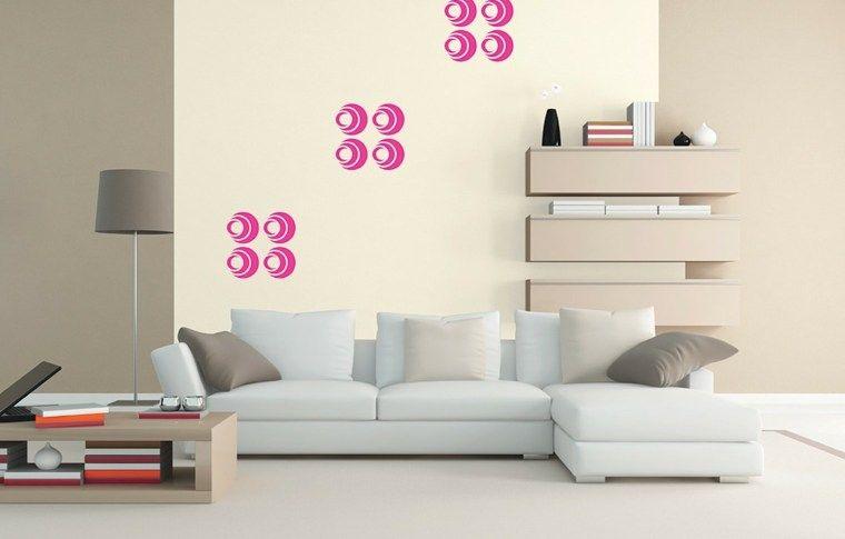 Moderne und elegante Wohnzimmerwanddekoration Dekoration 2019