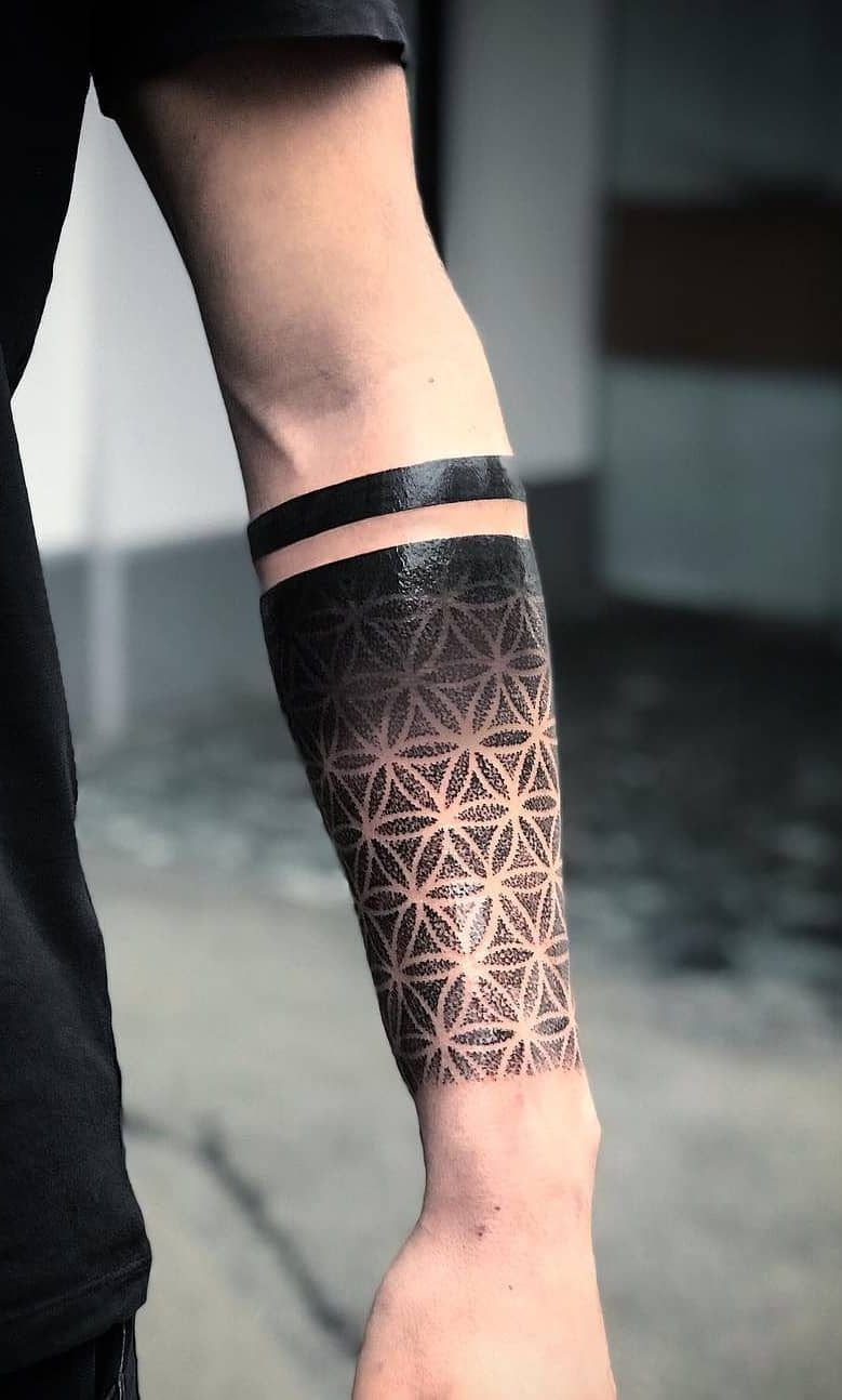 Armband Tattoos For Men Meaning