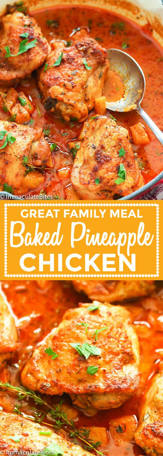 Baked Pineapple Chicken images